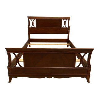 English Traditional Mahogany Full Bedframe For Sale