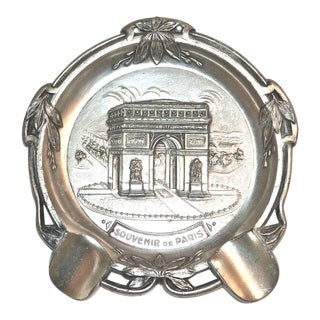 1960s Paris Arc De Triomphe Ashtray For Sale