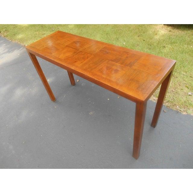 Mid century modern lane sofa table chairish mid century modern lane sofa table image 3 of 7 watchthetrailerfo