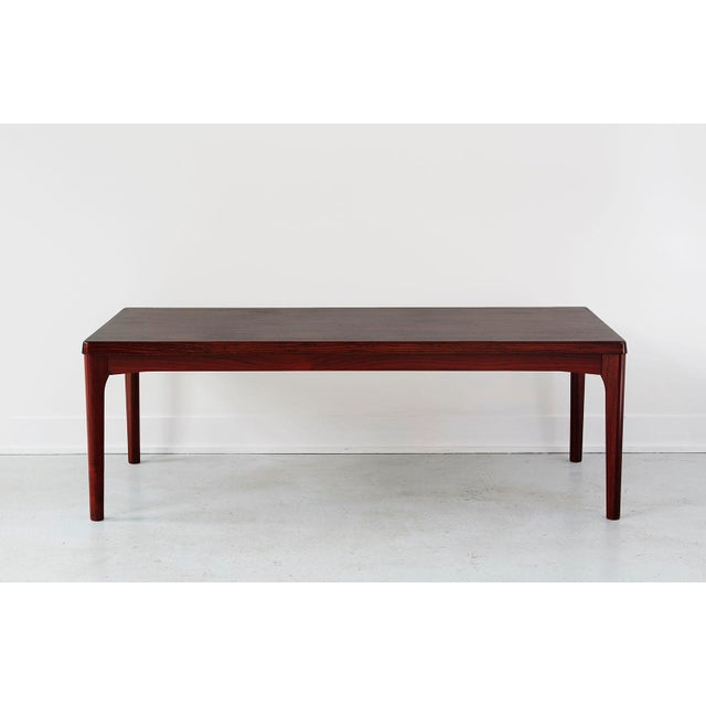 Danish Rosewood Coffee Table by Henning Kjaernulf - Image 2 of 4