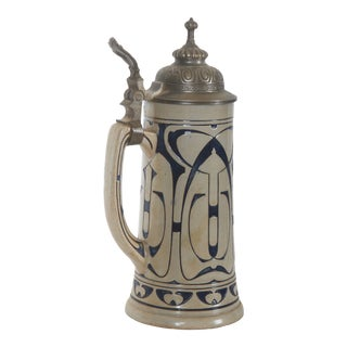Early 20th Century German Beer Stein For Sale