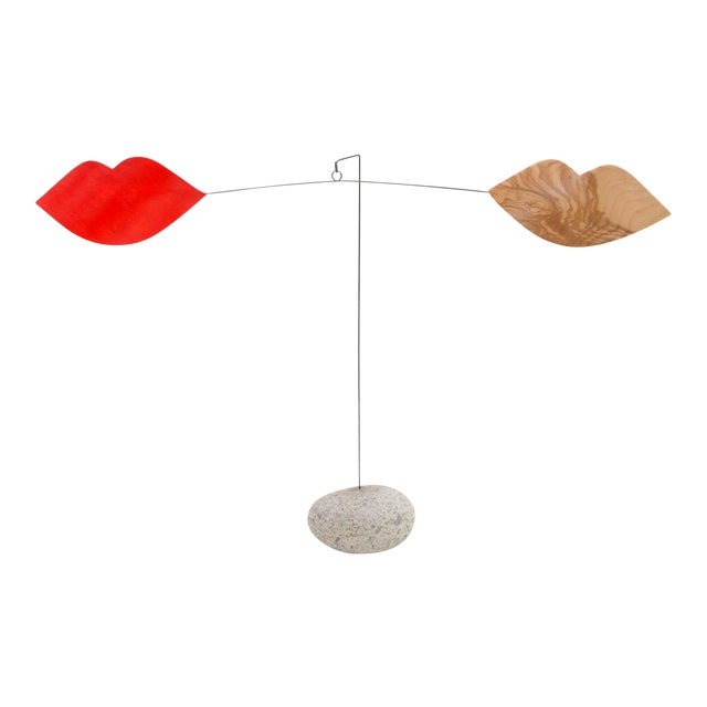 'Besos' Stabile, Modern Sculpture For Sale