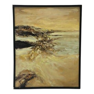 Spanish Abstract Landscape Painting For Sale