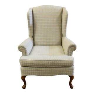 Rustic Chic Cottage Style Wingback Accent Chair