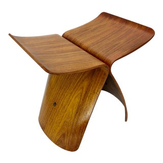 Sori Yanagi Butterfly Stool Vintage For Sale