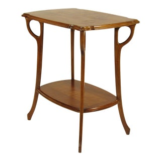 1920s Art Nouveau Galle Occasional Table For Sale