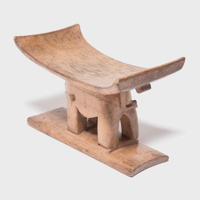 Early 20th Century Ashanti Elephant Stool For Sale - Image 5 of 7