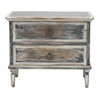 Sarreid Ltd. Zinc Top Two Drawer Cabinet