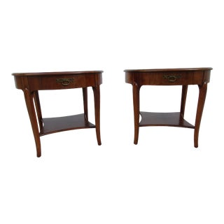 20th Century French Baker Milling Road Side Tables - a Pair