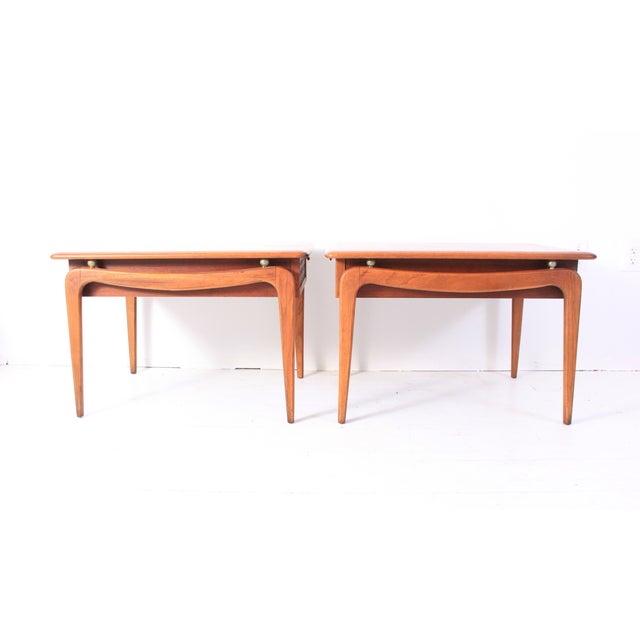 Vintage Lane Mid-Century Side Tables - a Pair - Image 3 of 10