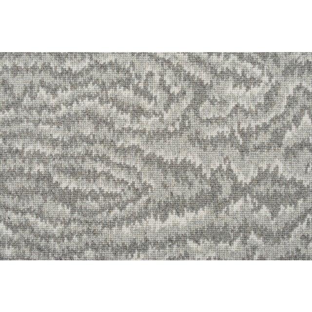 Stark Studio Rugs 100% Wool Runner Vero - Zinc 2'6 X 12 For Sale