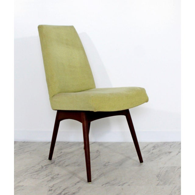 Yellow Mid Century Modern Adrian Pearsall Compass Dinette Dining Table & 4 Chairs 1960s For Sale - Image 8 of 12