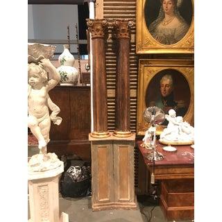 Pair of Venetian Faux Painted Columns Preview