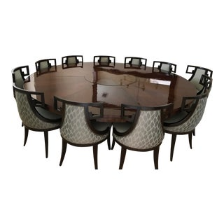 Baker Furniture Greek Dining Set For Sale