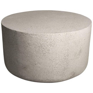 Cast Resin 'Millstone' Coffee Table with Natural Stone Finish by Zachary A. Design For Sale