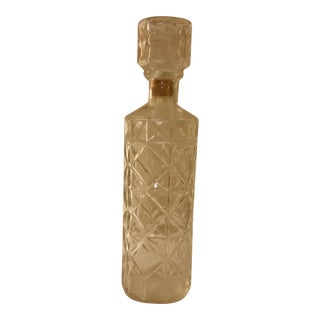1970s Vintage Seagrams Decanter For Sale