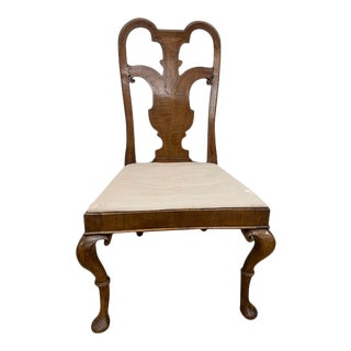 19th Century Chair With Inlaid Back For Sale