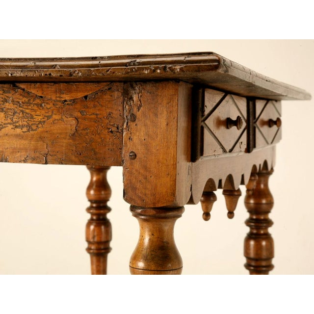 18th C. Antique French Fruitwood Writing Table For Sale - Image 11 of 11