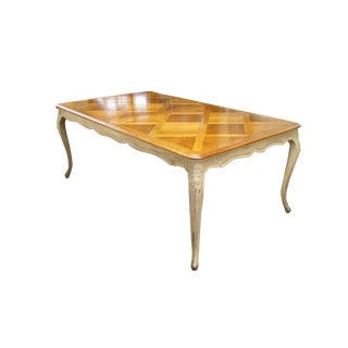20th Century Louis XV Parquet De Versailles Dining Table For Sale