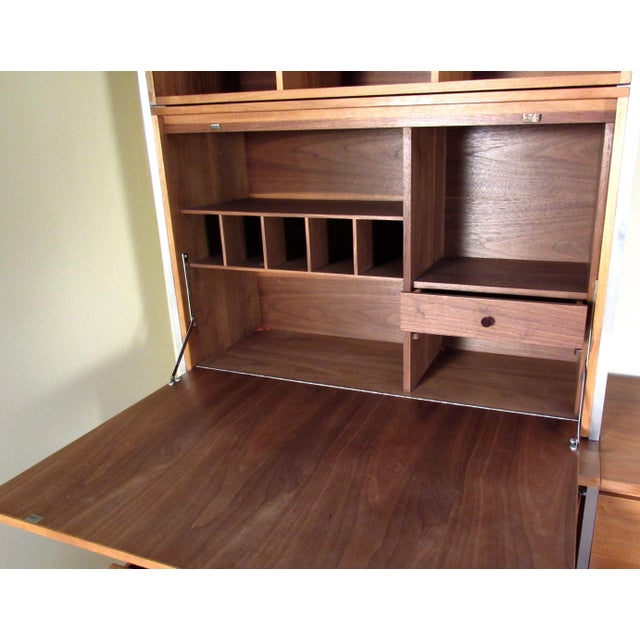 Wood Paul McCobb for H Sacks and Son Modular Wall Unit For Sale - Image 7 of 12