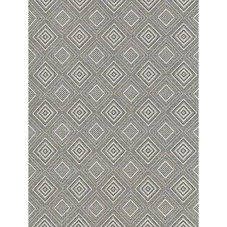 Sample, Scalamandre Antigua Weave, Carbon Fabric For Sale