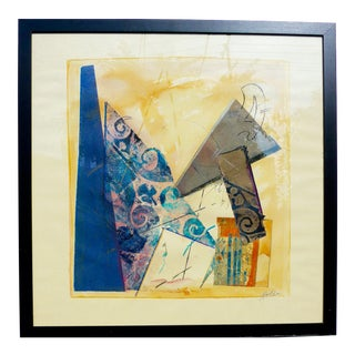 """Geometry"" Original Painting by Martha Holden For Sale"