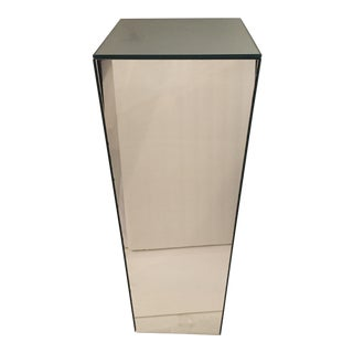 Vintage Tall Mirrored Pedestal