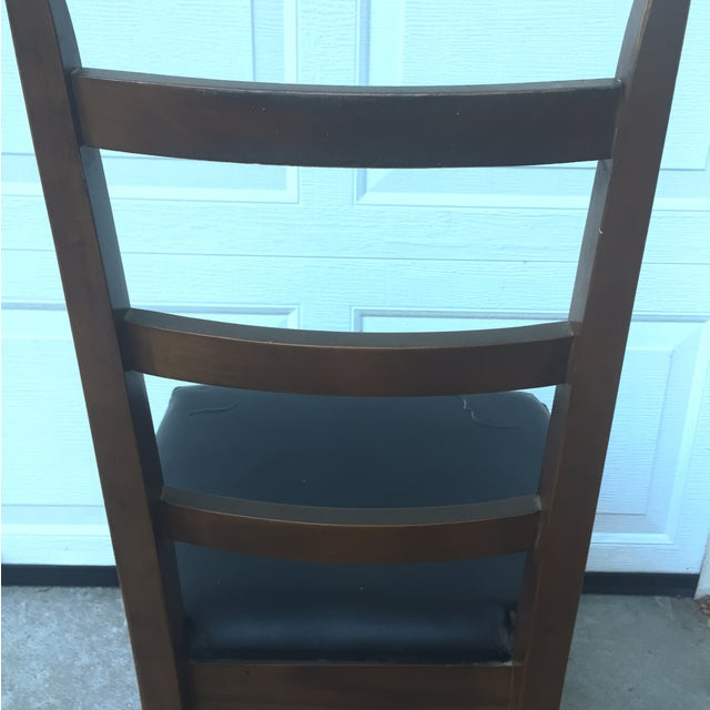 Mid-Century Ladder Back Side Chair - Image 9 of 10