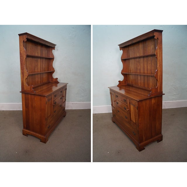 Stickley Vintage Cherry Open Hutch Cupboard - Image 3 of 10