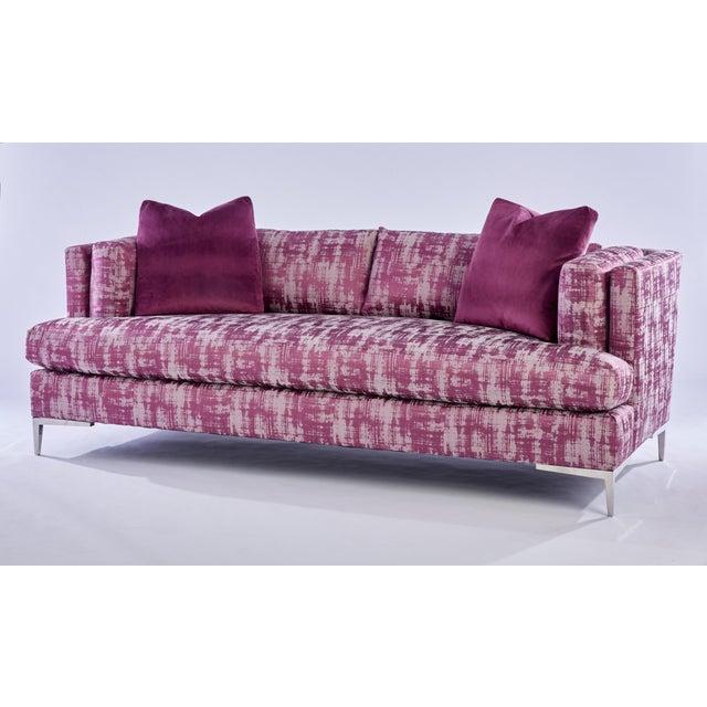 """Contemporary """"Paris"""" Sofa - Image 3 of 4"""