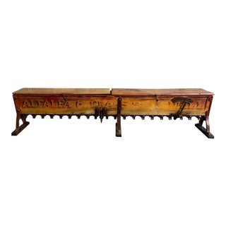 Antique Wood Bench