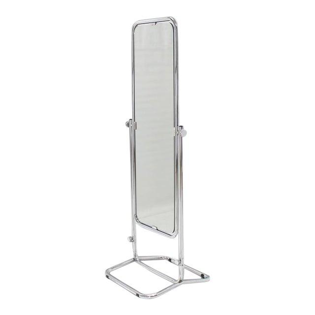 1950s Vintage Mid-Century Modern Cheval Mirror For Sale