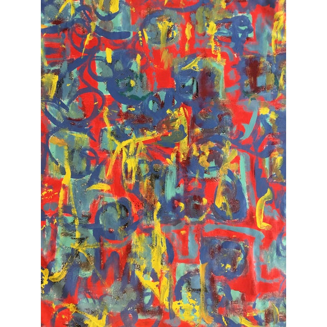 """Abstract Abstract """"What Should I Do?"""" Acrylic Painting by Alaina Suga Lane For Sale - Image 3 of 8"""