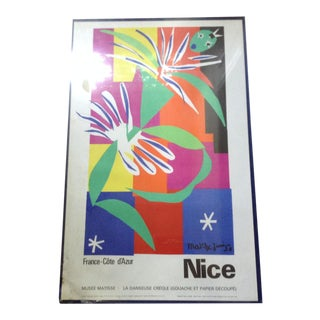 Matisse 'La Danseuse Creole' Poster