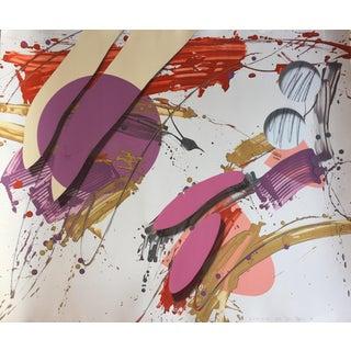 "1986 Mixed Media Abstract Original Art ""Corium 00"" For Sale"