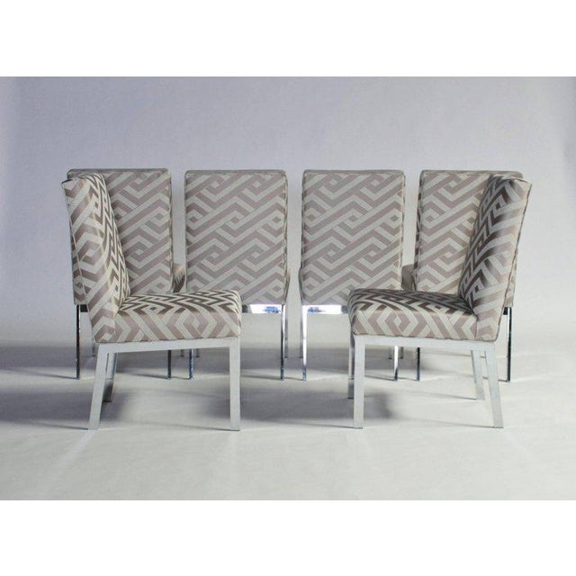 Mid-Century Modern Milo Baughman Design Institute of America Dining Chairs - Set of Six For Sale - Image 3 of 9