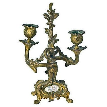 Antique Louis XV-Style Candleholder For Sale