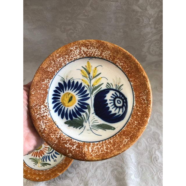 Henriot Quimper Decorative Plates - Set of 2 For Sale In New York - Image 6 of 12
