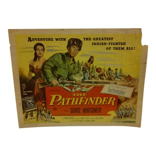 "Vintage Movie Poster for ""The Pathfinder"" For Sale"