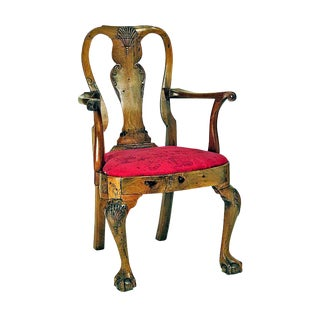 18th Century Georgian Irish Armchair For Sale