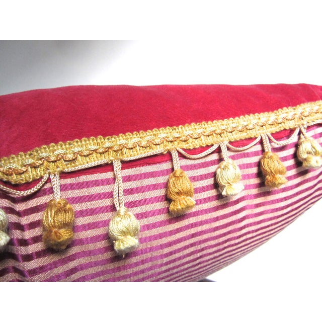 JoAnna Poitier Refurbished Vintage Pillow - Image 3 of 7