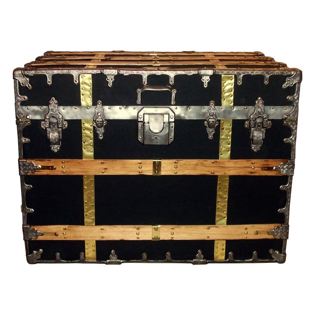 Antique XX Professional Model Trunk - Image 1 of 4