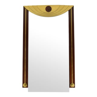Post-Modern Wall Mirror For Sale