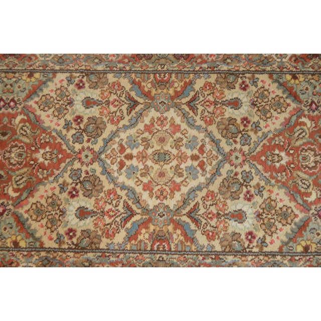 "Karastan Empress Kirman 2'6"" X 8'6"" Runner Area Rug Carpet (A) For Sale - Image 10 of 12"