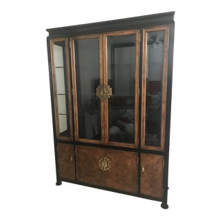 1970s Vintage Chin Hua China Cabinet by Century Furniture For Sale