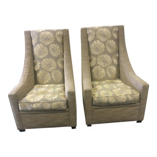 Living Room Chairs- A Pair For Sale
