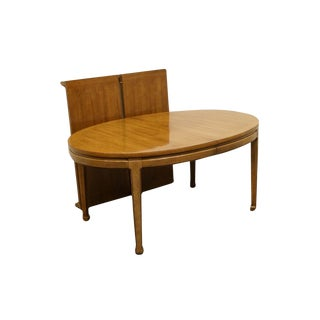 """Thomasville San Sei Collection 106"""" Oval Dining Table For Sale"""