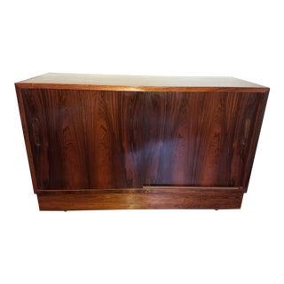 1960's Vintage Poul Hundevad Danish Modern Rosewood Credenza For Sale
