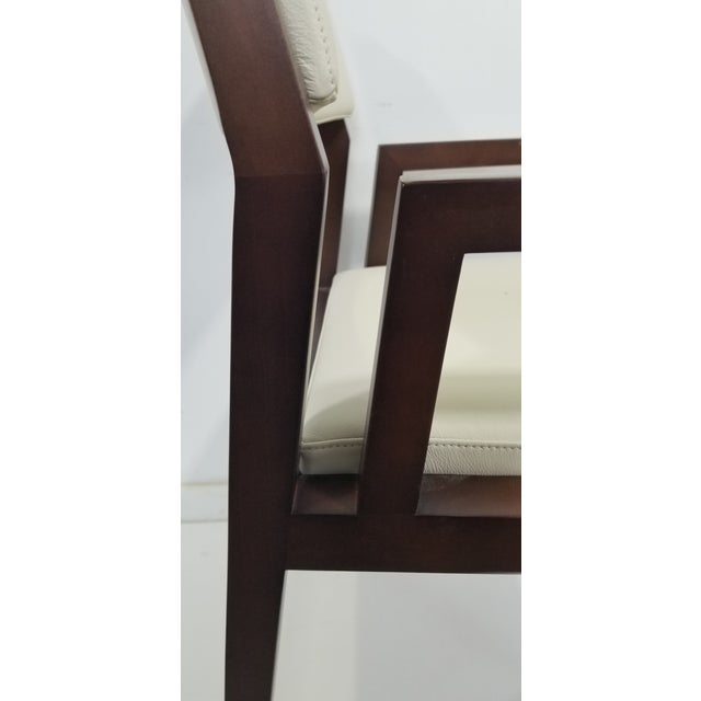 2010s Bernhardt Wood Guest Chair For Sale - Image 5 of 8