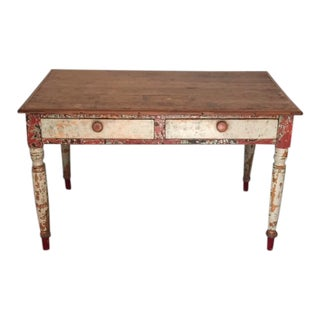 Vintage Boho Farm Table